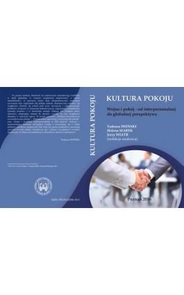 Wojna i pokój – od interpersonalnej do globalnej perspektywy - Ebook - 978-83-65096-50-0