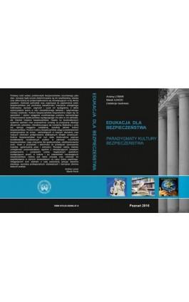 PARADYGMATY KULTURY BEZPIECZEŃSTWA - Ebook - 978-83-65096-47-0