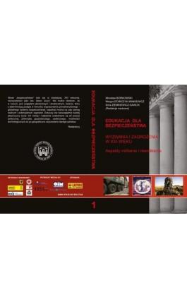 WYZWANIA I ZAGROŻENIA W XXI WIEKU ASPEKTY MILITARNE I NIEMILITARNE - Ebook - 978-83-61304-70-8