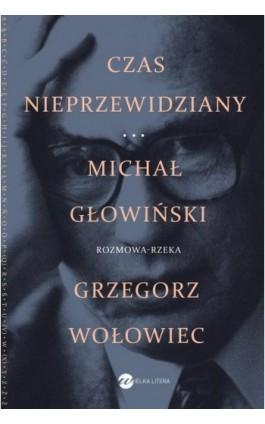 Czas nieprzewidziany - Michał Głowiński - Ebook - 978-83-8032-295-0