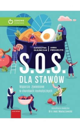 S.O.S. dla stawów - Olejniczak Katarzyna - Ebook - 978-83-8043-615-2
