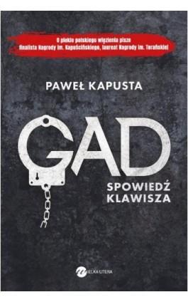 Gad. Spowiedź klawisza - Paweł Kapusta - Ebook - 978-83-8032-383-4