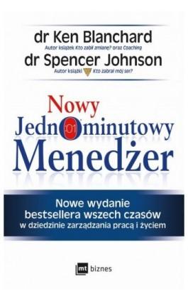 Nowy Jednominutowy Menedżer - Ken Blanchard - Audiobook - 978-83-8087-722-1