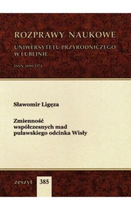 Zmienność współczesnych mad puławskiego odcinka Wisły - Sławomir Ligęza - Ebook