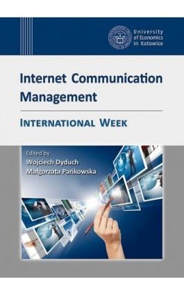 Internet Communication Management. International Week - Ebook - 978-83-7246-776-8