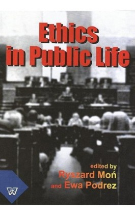 Ethics In Public Life - Ryszard Moń - Ebook - 978-83-7072-621-8