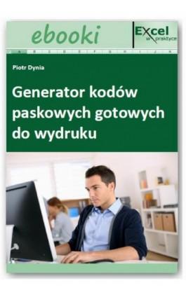Generator kodów paskowych gotowych do wydruku - Praca zbiorowa - Ebook - 978-83-7677-913-3