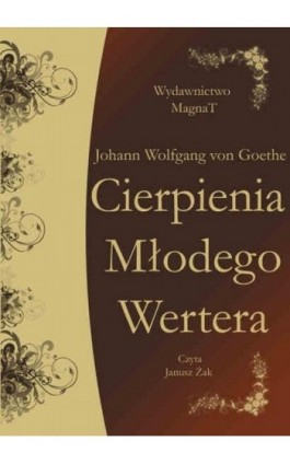 Cierpienia młodego Wertera - Johann Wolfgang von Goethe - Audiobook - 9788365449177