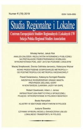 Studia Regionalne i Lokalne nr 4(78)/2019 - Mikołaj Herbst - Ebook