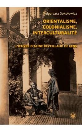 Orientalisme, colonialisme, interculturalité - Małgorzata Sokołowicz - Ebook - 978-83-235-4213-1