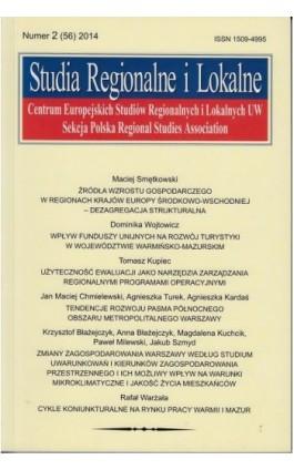 Studia Regionalne i Lokalne nr 2(56)/2014 - Ebook