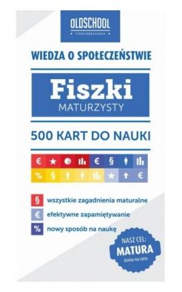 Wiedza o społeczeństwie. Fiszki maturzysty - Szymon Krawczyk - Ebook - 978-83-7892-235-3