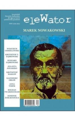 eleWator 34 (4/2020) – Marek Nowakowski - Praca zbiorowa - Ebook