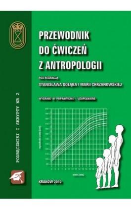 Przewodnik do ćwiczeń z antropologii - Stanisław Gołąb - Ebook - 978-83-891-2123-3