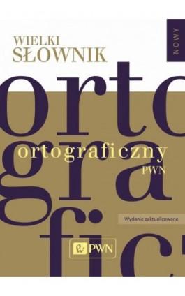 Wielki słownik ortograficzny PWN z zasadami pisowni i interpunkcji (program na komputery PC) - Ebook