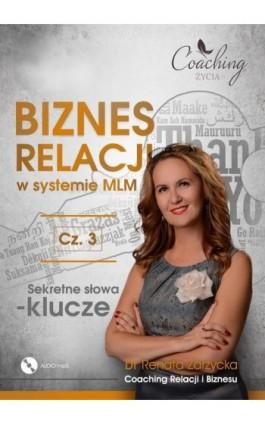 Sekretne słowa klucze. - mgr Renata Zarzycka - Audiobook - 978-83-7853-480-8
