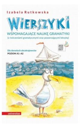 Wierszyki wspomagające naukę gramatyki - Rutkowska Izabela - Ebook - 978-83-242-6509-1
