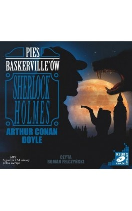 Pies Baskerville'ów - Arthur Conan Doyle - Audiobook - 978-83-7699-922-7