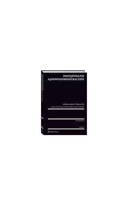 Postępowanie sądowoadministracyjne - Marta Romańska - Ebook - 978-83-8124-021-5