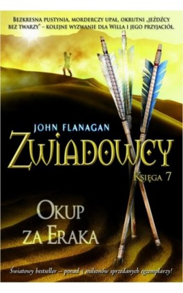 Zwiadowcy Księga 7 Okup za Eraka - John Flanagan - Ebook - 978-83-7686-096-1