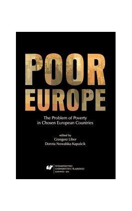 Poor Europe - Ebook - 978-83-8012-581-0