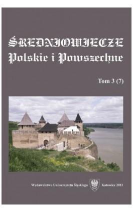 """""""""""Średniowiecze Polskie i Powszechne"""""""". T. 3 (7) - Ebook"""