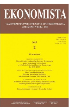 Ekonomista 2015 nr 2 - Praca zbiorowa - Ebook