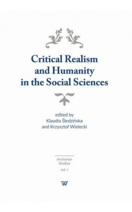 Critical Realism and Humanity in the Social Sciences - Ebook - 978-83-8090-096-7