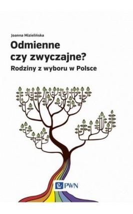 Odmienne czy zwyczajne? - Joanna Mizielińska - Ebook - 978-83-01-19490-1